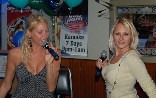 Karaoke, not just singing but attitude!